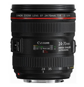 Canon 24-70mm f/4L IS Lens