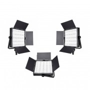 3x LED 900 Light Panel Lighting Kit Hire