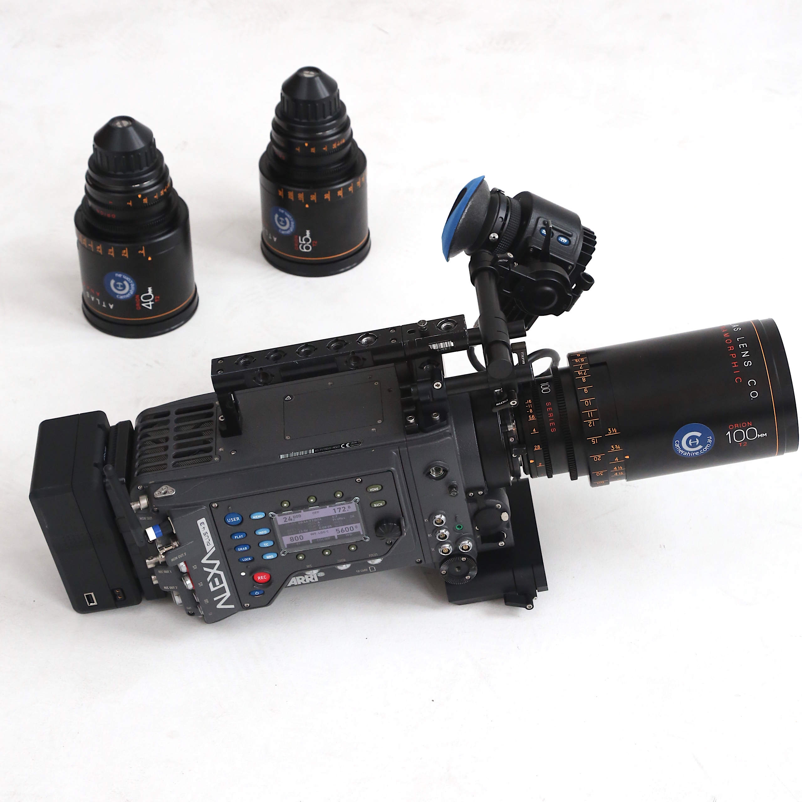Anamorphic Shoot Package (ARRI, Atlas)