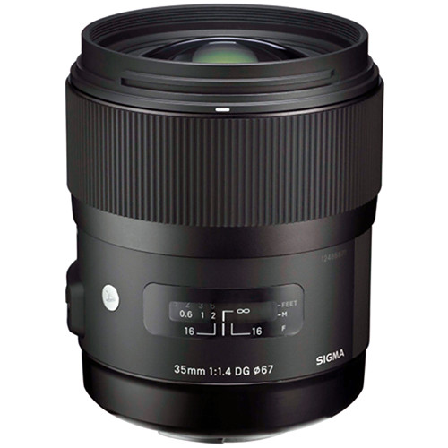 Sigma 35mm f1.4 ART Lens