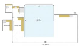 Studio One Floor Plan