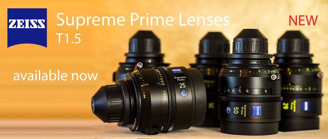 Zeiss Supreme Prime Lenses
