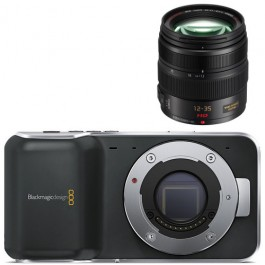 Blackmagic Pocket Camera + Lens Kit