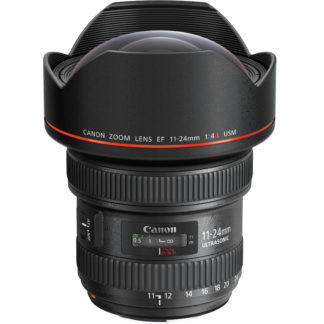 Canon 11-24mm f/4L lens hire