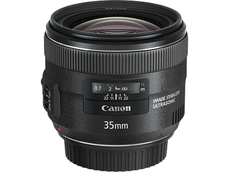 Canon 35mm f/2 IS Lens