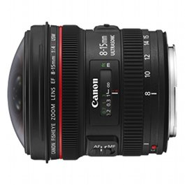 Canon 8-15mm f4 L fisheye lens hire rental IN STOCK fish eye
