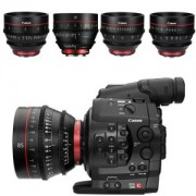 Canon C300 CN-E Cinema Lens Kit