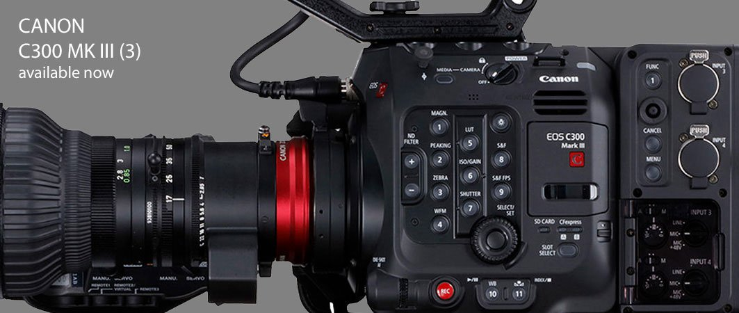 Canon C300 mark III 3 Camera