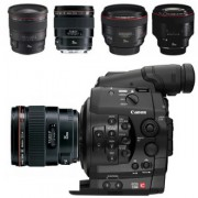 Canon C300 Prime Lens Kit 24 35 50 85