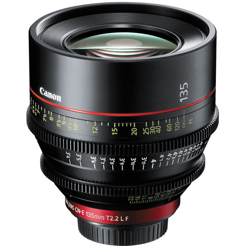 Canon CN-E 135mm Lens Hire T2.2 Cinema CNE 135