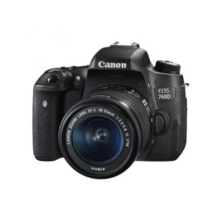 Canon 760D with 18-55mm STM