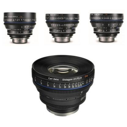 Carl Zeiss CP.2 Cinema Lens Kit (PL Mount)