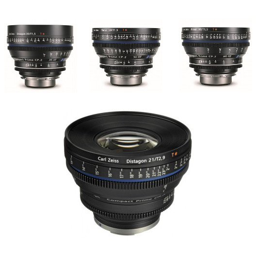 Carl Zeiss CP.2 Cinema Lens Kit (PL Mount)