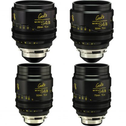 cooke mini s4i lens kit