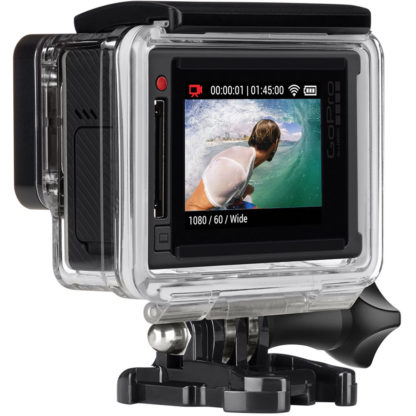 GoPro Hero4 Silver Back