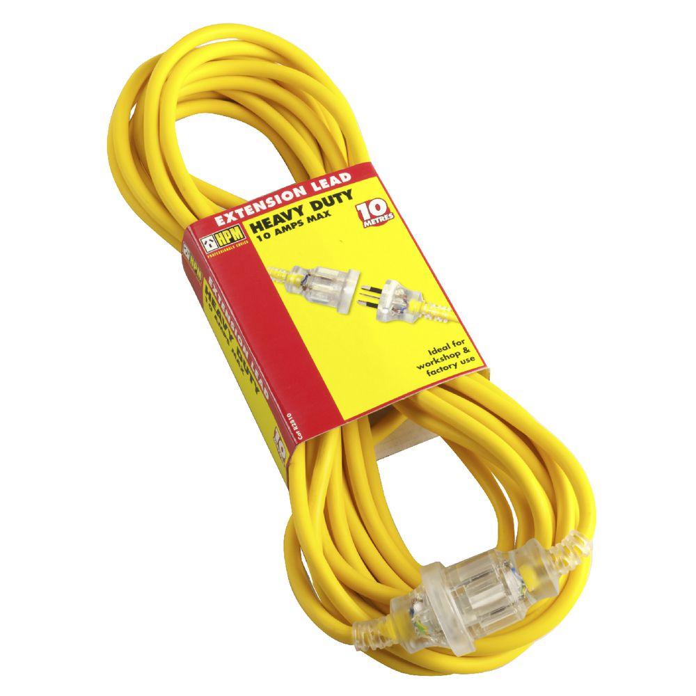 HPM Heavy Duty Extension Lead 10m