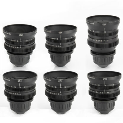 Ironglass Soviet Vintage PL Lenses