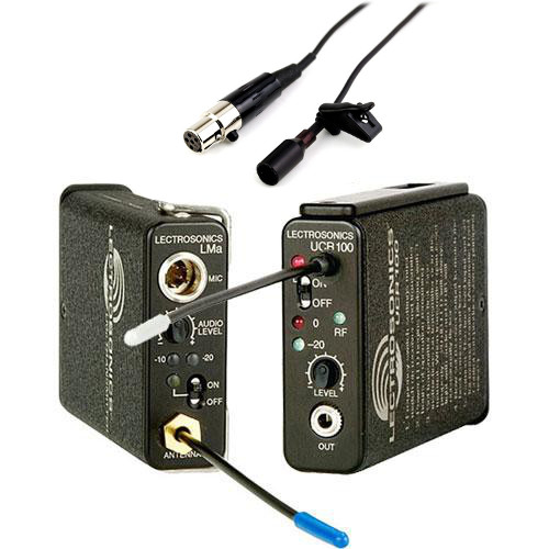 Lectrosonics UCR100 Wireless Lapel Kit