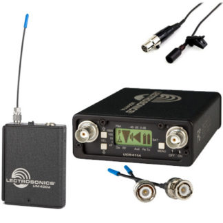 Lectrosonics UCR411a UM400 Wireless Lapel Kit