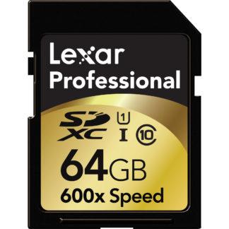 Lexar 64Gb SDXC Memory Card
