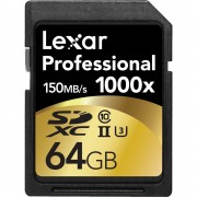 Lexar 64gb U3 Class 10 memory card