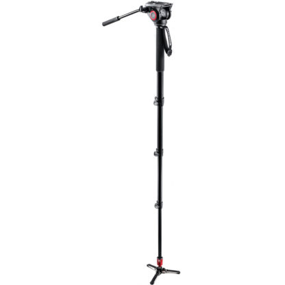 Manfrotto MVM500A Video Monopod with MVH500A Fluid Head