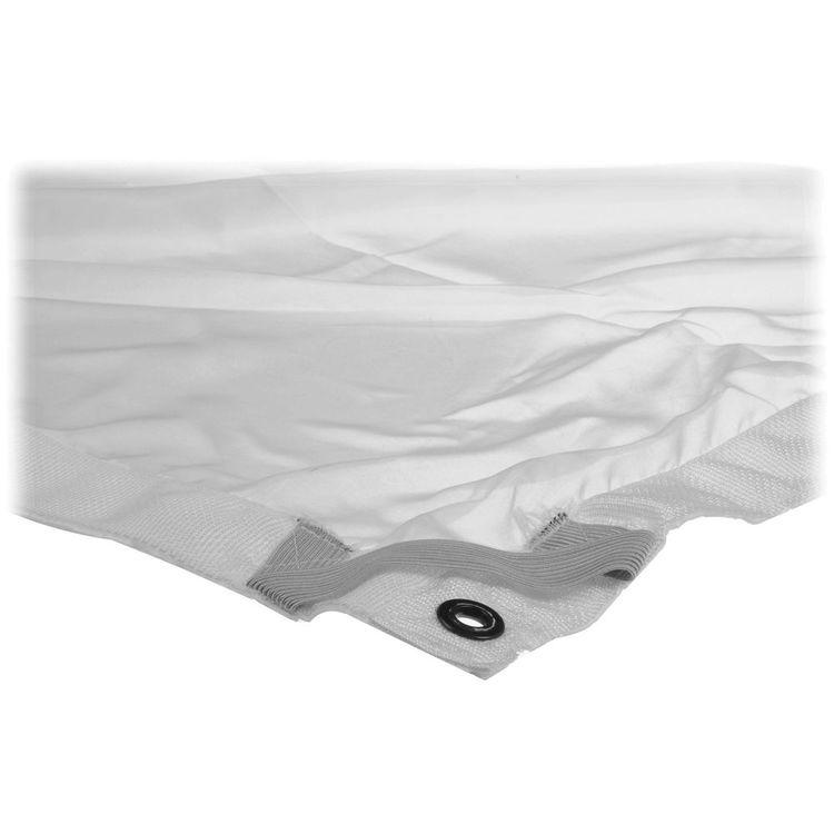 Matthews 6x6' White China Silk Fabric