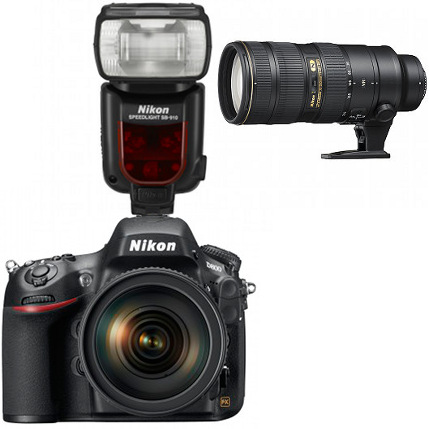 Nikon D800 Professional Kit