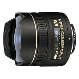 Nikon 10.5mm fisheye hire DX Nikkor Rental
