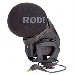 Rode Stereo VideoMic Pro Microphone Hire Rental Sydney Australia Video Mic