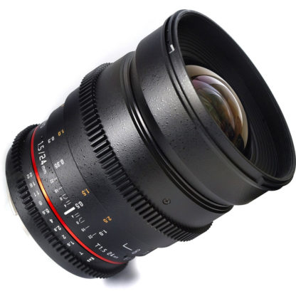 Samyang 24mm T1.5 Cine Lens for Sony E-Mount