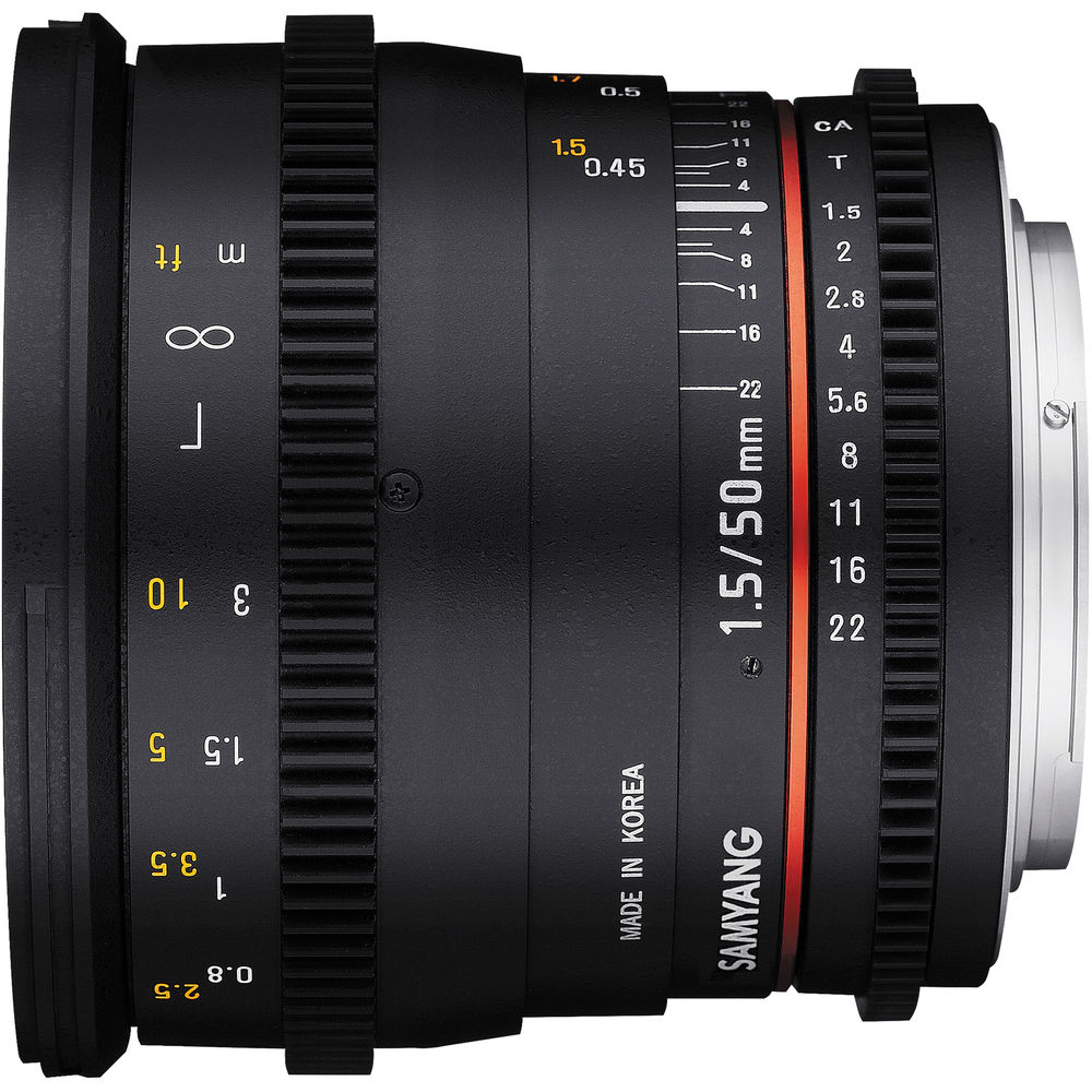 Samyang 50mm T1.5 Cine Lens for Sony E-Mount