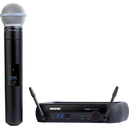 Shure PGXD24 BETA58A Handheld Wireless System