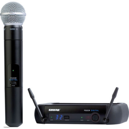 Shure PGXD24 SM58 Handheld Wireless System