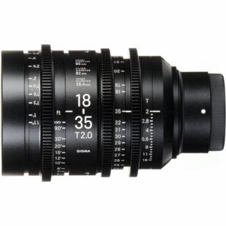 Sigma 18-35mm T2 PL Mount Lens
