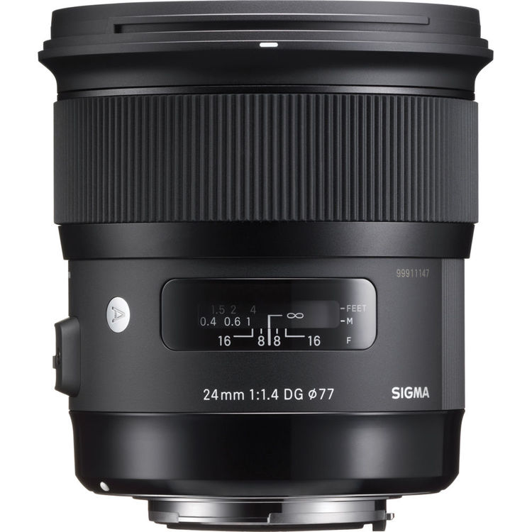 Sigma 24mm f/1.4 DG HSM Art Lens (for Nikon)
