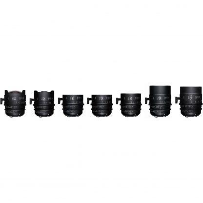 Sigma FF Cinema Prime Lenses