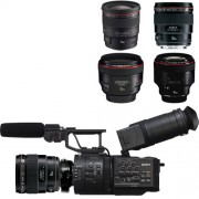 Sony FS700 with Canon Prime Lens Kit