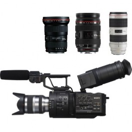 Sony FS700 with Zoom Lens Kit