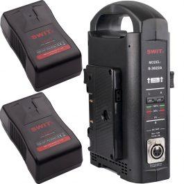 Swit Gold Mount battery kit