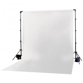 Superior White Seamless Paper Backdrop (2.7 x 11m)