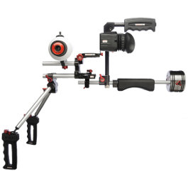 Zacuto Double Barrel Hire Rental Sydney Australia Rig Video DSLR