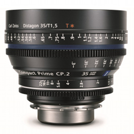 Carl Zeiss CP.2 35mm Lens Hire T1.5 Super Speed 35