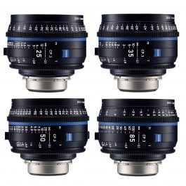 Zeiss CP.3 Lens Kit