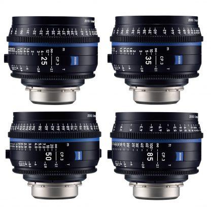 Zeiss CP.3 Lens Kit